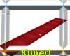 ~K~Just red runway rug