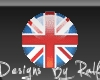 [RD] UK Flag Badge
