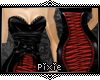 |Px| Corsetted Red