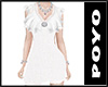 AZATOI DRESS White