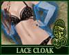 Lace Cloak Blue