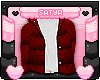 Red Bubble Coat+Sweater