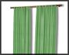 Soft Green Curtain