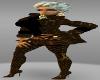 lv brown skirt /bootz