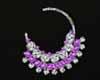 Aari Sum Purple Earring