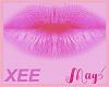 """XEE Lips Pink May's"