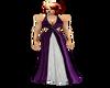 Purple White Dress V2