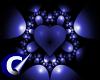 Blue Hearts Black Pictur