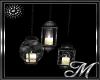 Black / Silver lamps