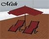 Mish Beach Chairs Umb