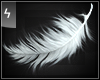 A Falling White Feather