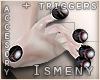 [Is] Zombie Eyes Fingers