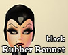Black Rubber Bonnet