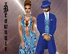Xtra Paisley Blues Dress
