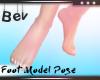 FOOT MODEL POSE