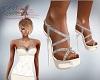 Katz~ Ivory Diamond Heel