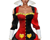 Queen of Hearts Shrug