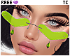 ®Tc. ❤ Glasses Lime