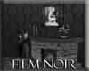 Film Noir Fireplace