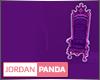 Purple Custom Throne