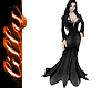 Morticia Adams dress