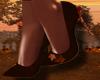 Autumn Leaf Heels