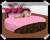 Spinning Pink Spot Bed