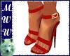 Red Heeled Sandal