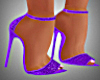 Purple Cocktail Heels