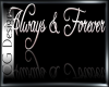 Always & Forever Sticker