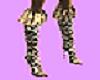 Leopard Knee Highs