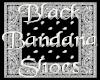 [KW] Blk Bandana Shoes