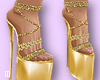 Bimbo Heels Goldy