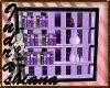 bookcase pastel goth