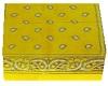 bandana yellow dot