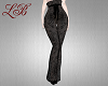 [LB] Black lace pants