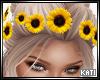 Sunflower Hair Flowers