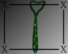 .X. Santa Baby Tie Green