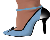 Stas-Lt Blue/Black Heels