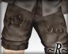 ~R~ Yaoi Shorts Brown