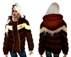 Winter Coat BrownGold(F)
