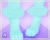 A| Romi Fur Anklets 1