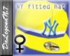 NY Fitted hat(Yellow)(F)