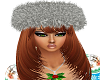 Dark Silver Holiday Hat