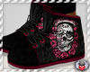 SWA| Rose Skull Shoes P