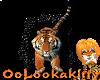 ~Oo Tiger Sticker
