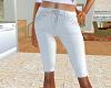 TF* Long White Shorts