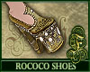 Rococo Shoes Gold