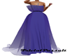 PurplePagent DrapedDress