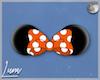 𝕯| Minnie Ears Orange